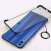 Samsung M11 Matte Transparent Hybrid Frosted Full Frame Less Case Cover