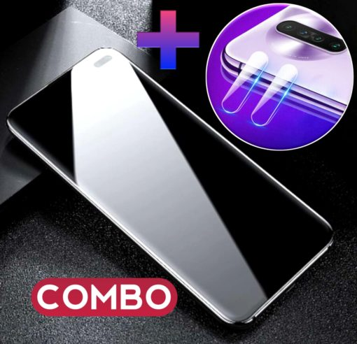 POCO X2 OG Tempered Glass and Camera Bump Tempered Glass Combo