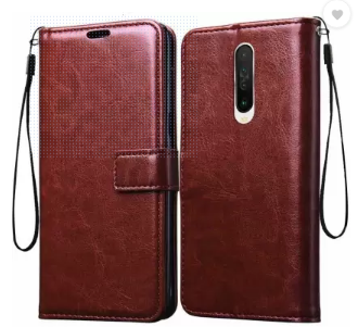 Poco X2 Premium Leather Finish Flip Cover