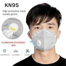 KN95 Washable Mask For Covid 19 Protection