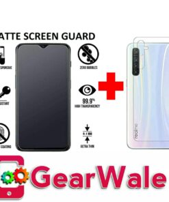 Realme XT Matte Tempered Glass and skin Combo