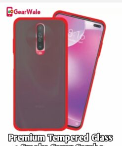 Poco X2 Special Combo Full Screen Tempered Glass + Smoke Cover