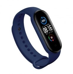 Xiaomi Mi Band 5 Custom Strap Blue