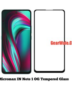 Micromax IN Note 1 OG Tempered Glass 9H Curved Full Screen
