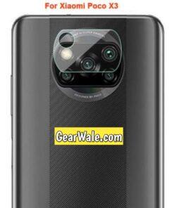 POCO X3 Camera Bump Tempered Glass Imported Quality