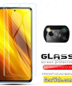 Poco X3 Orignal Accessories Tempered Glass and Camera Glass