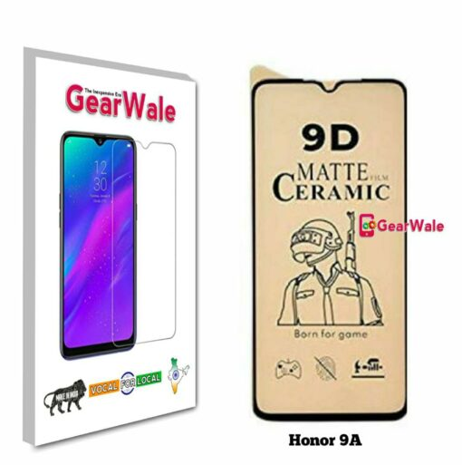 Honor 9A Matte Screen Protector for GAMERS