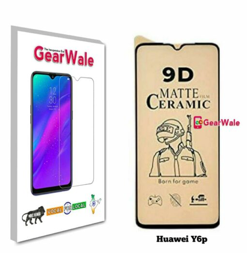 Huawei Y6p Matte Screen Protector for GAMERS