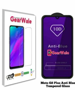 Moto G8 Plus Anti-Blue Eyes Protected Tempered Glass