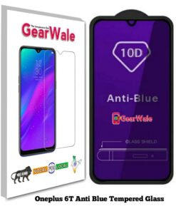 Oneplus 6T Anti-Blue Eyes Protected Tempered Glass