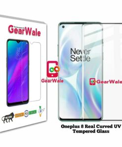 Oneplus 8 Real Curved UV Tempered Glass