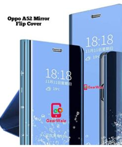 Oppo A52 Mirror Flip Cover Exclusive