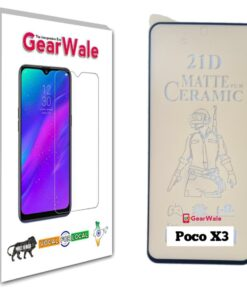 Poco X3 Matte Screen Protector for GAMERS