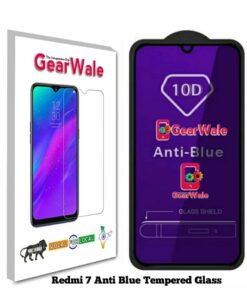 Redmi 7 Anti-Blue Eyes Protected Tempered Glass