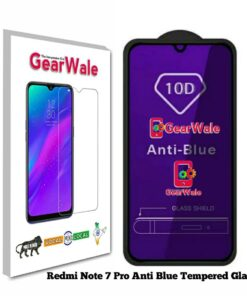 Redmi Note 7 Pro Anti-Blue Eyes Protected Tempered Glass