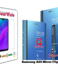 Samsung A60 Mirror Flip Cover Exclusive