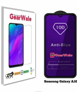 Samsung Galaxy A20s Anti-Blue Eyes Protected Tempered Glass