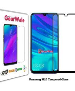 Samsung M20 Full Screen Original Tempered Glass