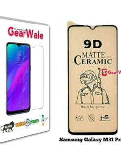 Samsung Galaxy M31 Prime Matte Screen Protector for GAMERS