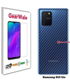 Samsung S10 Lite Back Side Glass Protector