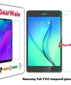 Samsung TAB T355 Tempered Glass 9H Curved Full-Screen Edge to Edge protected
