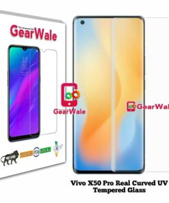 Vivo X50 Pro Real Curved UV Tempered Glass