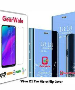 Vivo Z1 Pro Mirror Flip Cover Exclusive