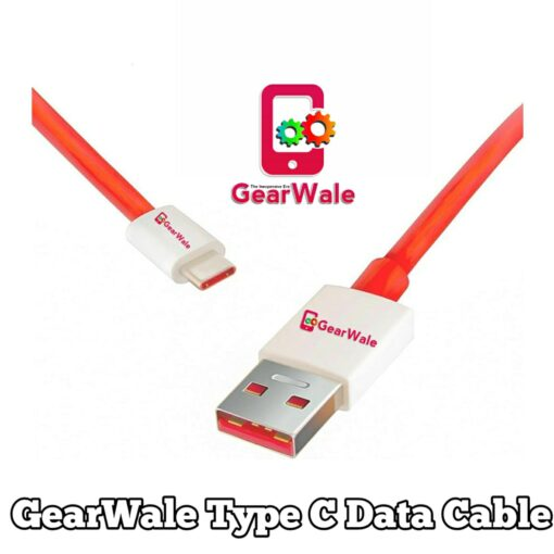 GearWale Type C Cable 3.0 support Up to 65 Watt