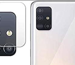 Samsung A51 Camera Bump Tempered Glass Imported Quality