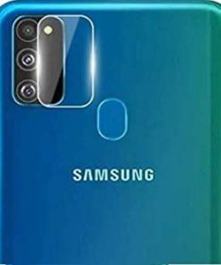 Samsung M21 Camera Bump Tempered Glass Imported Quality