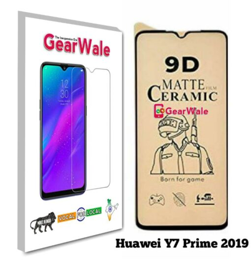 Huawei Y7 Prime 2019 Matte Screen Protector for GAMERS