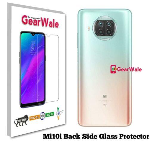 MI10i Back Side Glass Protector