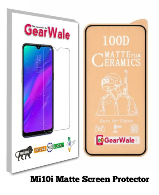 Mi10i Matte Screen Protector for GAMERS