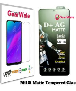 Mi10i Matte Tempered Glass For Gamers