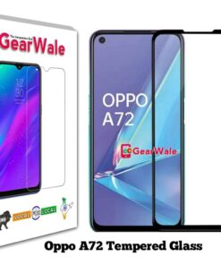Oppo A72 Full Screen Tempered Glass 2.5D Curved 9H Hardness