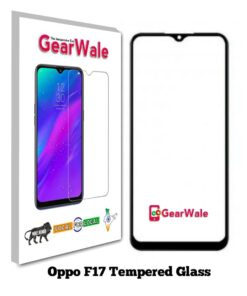 Oppo F17 Full Screen Tempered Glass 2.5D Curved 9H Hardness