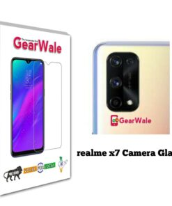Realme X7 Camera Bump Tempered Glass Imported Quality