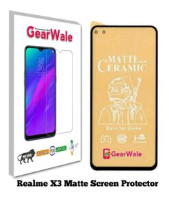 Realme X3 Matte Screen Protector For Gamers