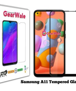 Samsung A11 Tempered Glass 9H Curved Full Screen