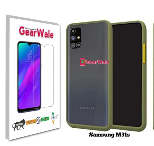 Samsung M31s Smoke Cover Special Edition Without Camera cover