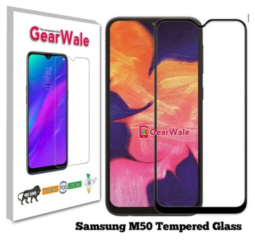 Samsung M50 Full Screen Tempered Glass 2.5D Curved