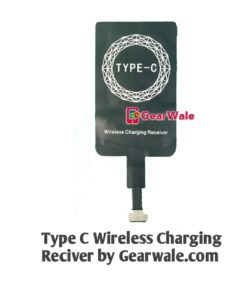 Type c wireless charging receiver By GearWale