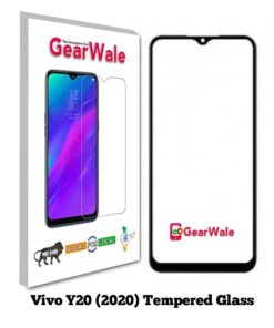 Vivo Y20 (2020) Full Screen Tempered Glass 2.5D Curved 9H Hardness
