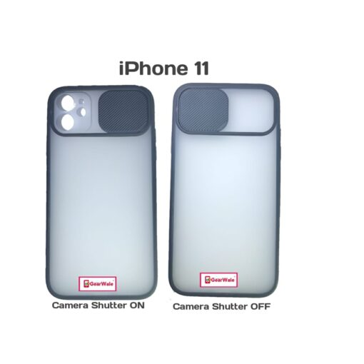 iPhone 11 Camera Shutter Smoke Cover Limited Edition