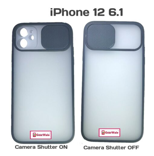 iPhone 12 6.1 Camera Shutter Smoke Cover Limited Edition