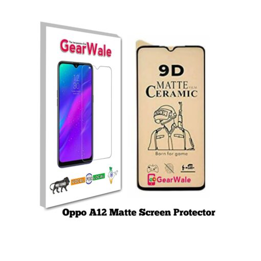 Oppo A12 Matte Screen Protector for GAMERS