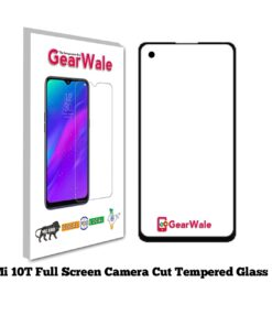 Mi 10T Full Screen Tempered Glass 2.5D Curved 9H Hardness