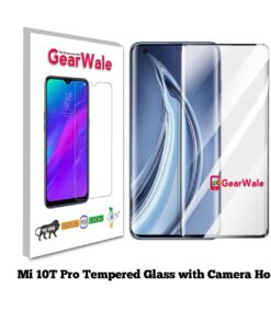 MI 10T Pro Full Screen Tempered Glass with camera Cut Out