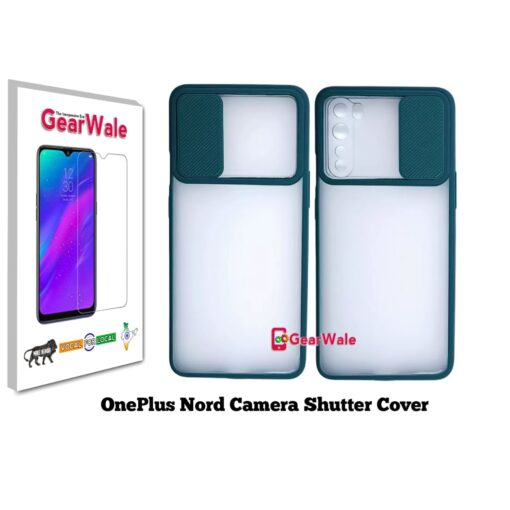 OnePlus Nord Camera Shutter Smoke Cover Limited Edition