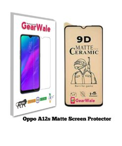 Oppo A12s Matte Screen Protector for GAMERS